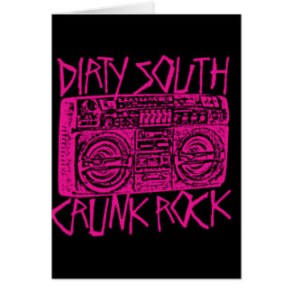 "Lil Jon ""Dirty South Boombox Pink"" Greeting Card"