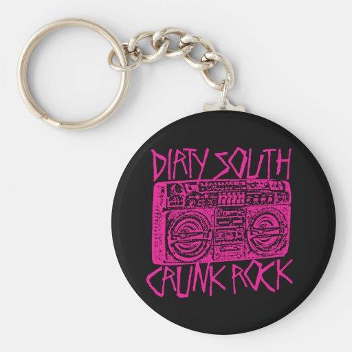 "Lil Jon ""Dirty South Boombox Pink"" Keychain"