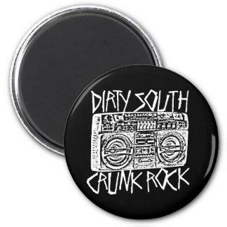 Lil Jon Dirty South Boombox White Fridge Magnet