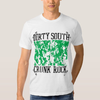"""Lil Jon """"Dirty South Crunk Rock"""" Green Tshirt"""
