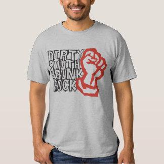 "Lil Jon ""Dirty South Fist"" Red T Shirts"
