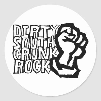 "Lil Jon ""Dirty South Fist""  Round Sticker"