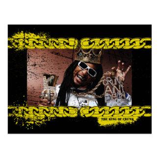 Lil Jon King of Crunk Postcard