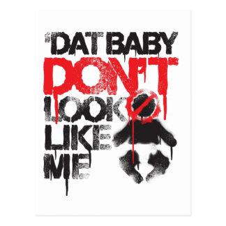 Lil Jon Shawty Putt- Dat Baby Don t Look Like Me Post Card
