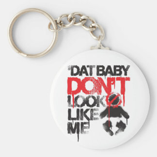 "Lil Jon ""Shawty Putt- Dat Baby Don't Look Like Me"" Basic Round Button Key Ring"