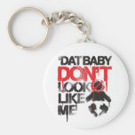 """Lil Jon """"Shawty Putt- Dat Baby Don't Look Like Me"""" Basic Round Button Key Ring"""