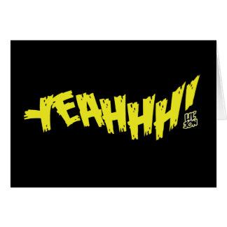 "Lil Jon ""Yeeeah!"" Yellow Card"