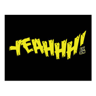 Lil Jon Yeeeah Yellow Post Cards