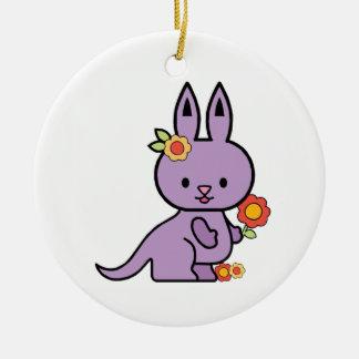 Lil Kangaroo Ceramic Ornament