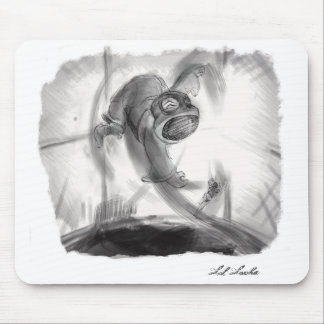 Lil Lucha Rage in the Cage! Mouse Pad