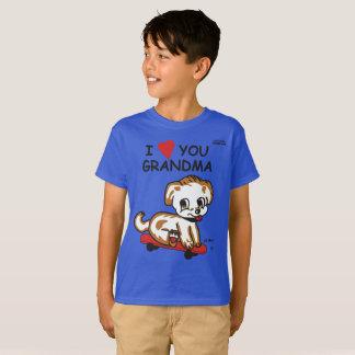 Lil Max I Love GrandMa T-Shirt
