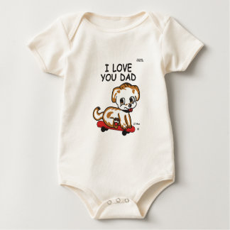 Lil Max's I Love You Dad Creeper
