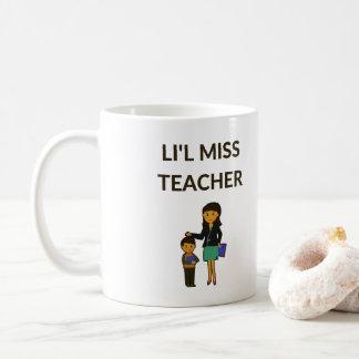Li'l Miss Teacher, Cute Teachers Coffee Mug