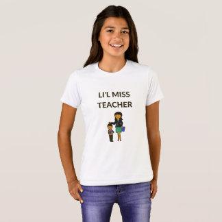 Li'l Miss Teacher, Cute Teachers School T-shirt