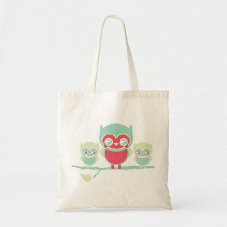 Lil Munchkin Kawaii Owls Tote Bags