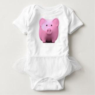 Lil Piggy Baby Bodysuit