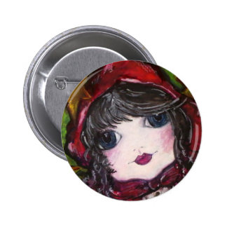 Lil' Red Riding Hood 6 Cm Round Badge