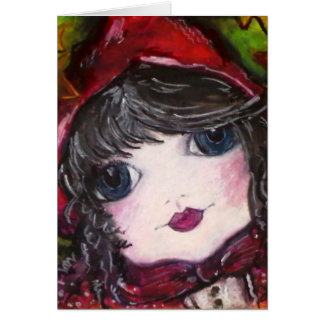 Lil' Red Riding Hood Card