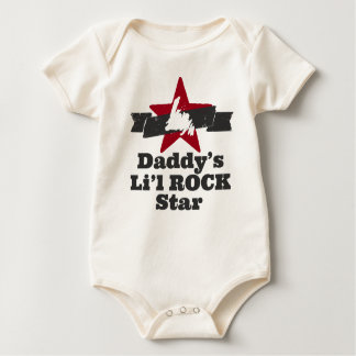 Li'l ROCK Star (Daddy's) Baby Bodysuit