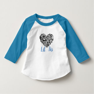 Lil Sis with Heart T-Shirt