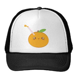Lil' Squirt Cute Baby Orange Hat
