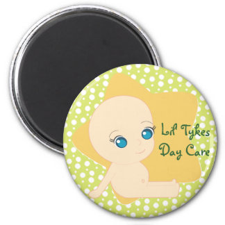 Lil' Tykes Day Care 6 Cm Round Magnet
