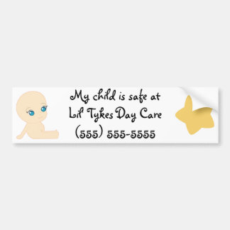 Lil' Tykes Day Care Bumper Sticker