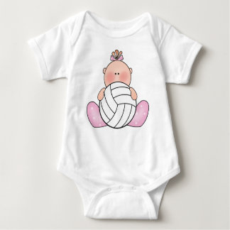 Lil Volleyball Girl Baby Bodysuit