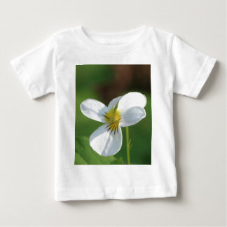 Lil White Flower Baby T-Shirt