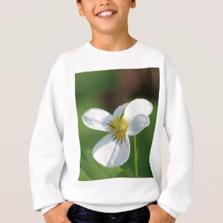 Lil White Flower Sweatshirt