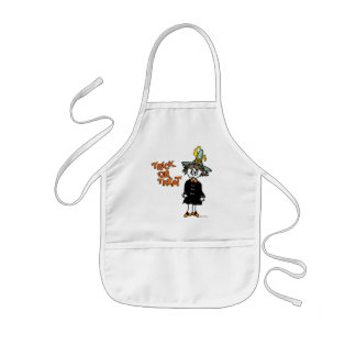 Lil Witch Trick-or-Treat Aprons