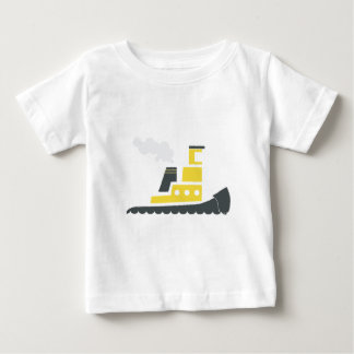 Lil Yellow Tugboat Baby T-Shirt