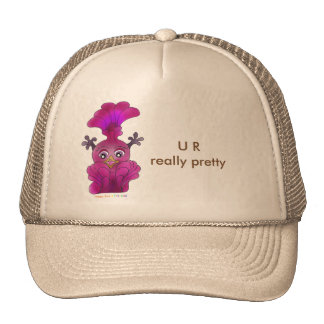 Lila cap for girls