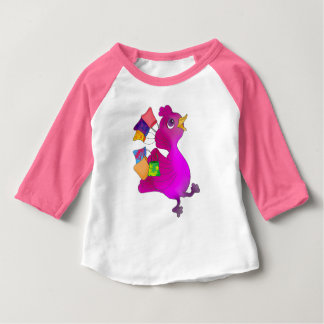 Lila loves Shopping by The Happy Juul Company Baby T-Shirt