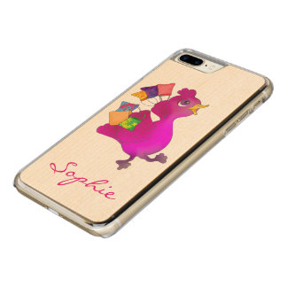 Lila loves shopping by The Happy Juul Company Carved iPhone 8 Plus/7 Plus Case