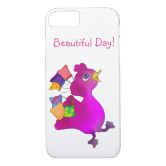 Lila loves shopping by The Happy Juul Company iPhone 8/7 Case