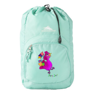 Lila loves Snowboarding by The Happy Juul Company Backpack