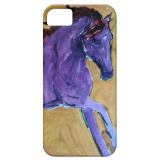 Lila Mustang iPhone 5 Case