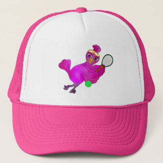 Lila Tennis by The Happy Juul Company Trucker Hat