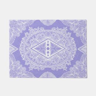 Lilac , Age of awakening, bohemian, newage Doormat