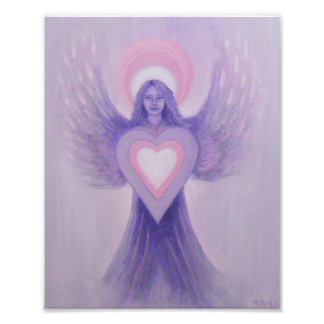 Lilac Angel Photo Art