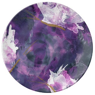 Lilac Art Plate