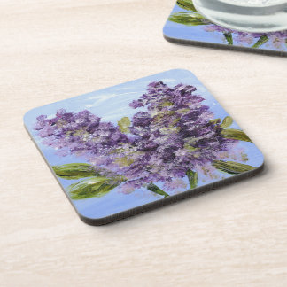 Lilac Blossom Coaster Set of 6