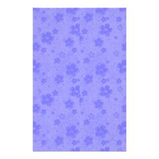 Lilac blue paper flowers