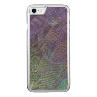 Lilac-breasted Roller feathers Carved iPhone 7 Case