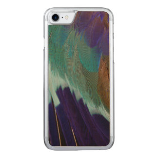 Lilac Breasted Roller feathers Carved iPhone 7 Case