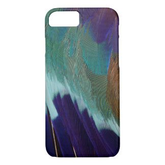 Lilac Breasted Roller feathers iPhone 7 Case