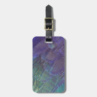 Lilac-breasted Roller feathers Luggage Tag