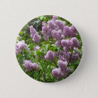 Lilac Bush 6 Cm Round Badge