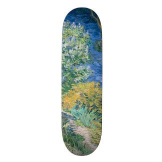 Lilac Bush (Lilacs) by Vincent Van Gogh Skate Board Deck